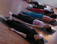 yoga certification and training with the living yoga program